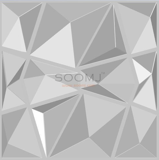Modern 3d Wall Tiles Textured Tilesset Of 12 B2855006