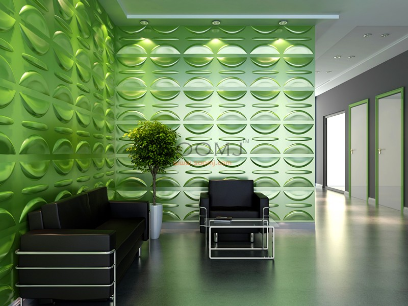 Threedwall Panels 3d Wall Panels Plant Fiber Material Set Of 12