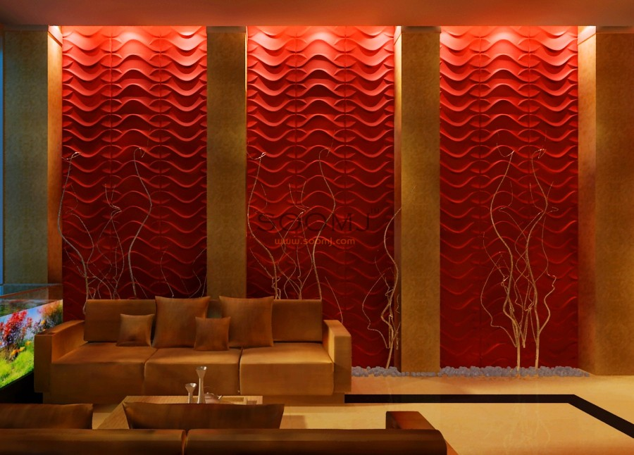 3d Modern Wall Art Cladding Textured Wall Panels 32 29 Sq
