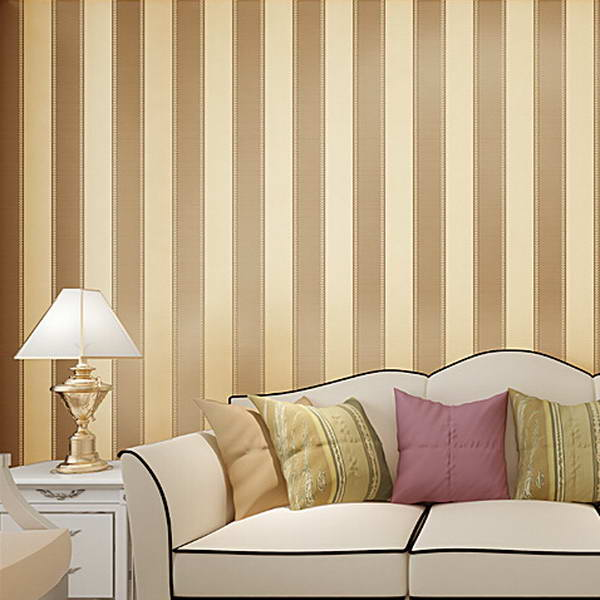 High Quality Mural modern striped wallpaper for wall papel de parede ...