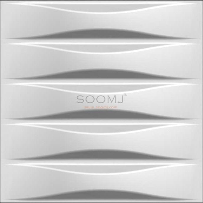 Decorative Interior 3D Wall Panels Textured Decor Designs Set Of 12 B2855046