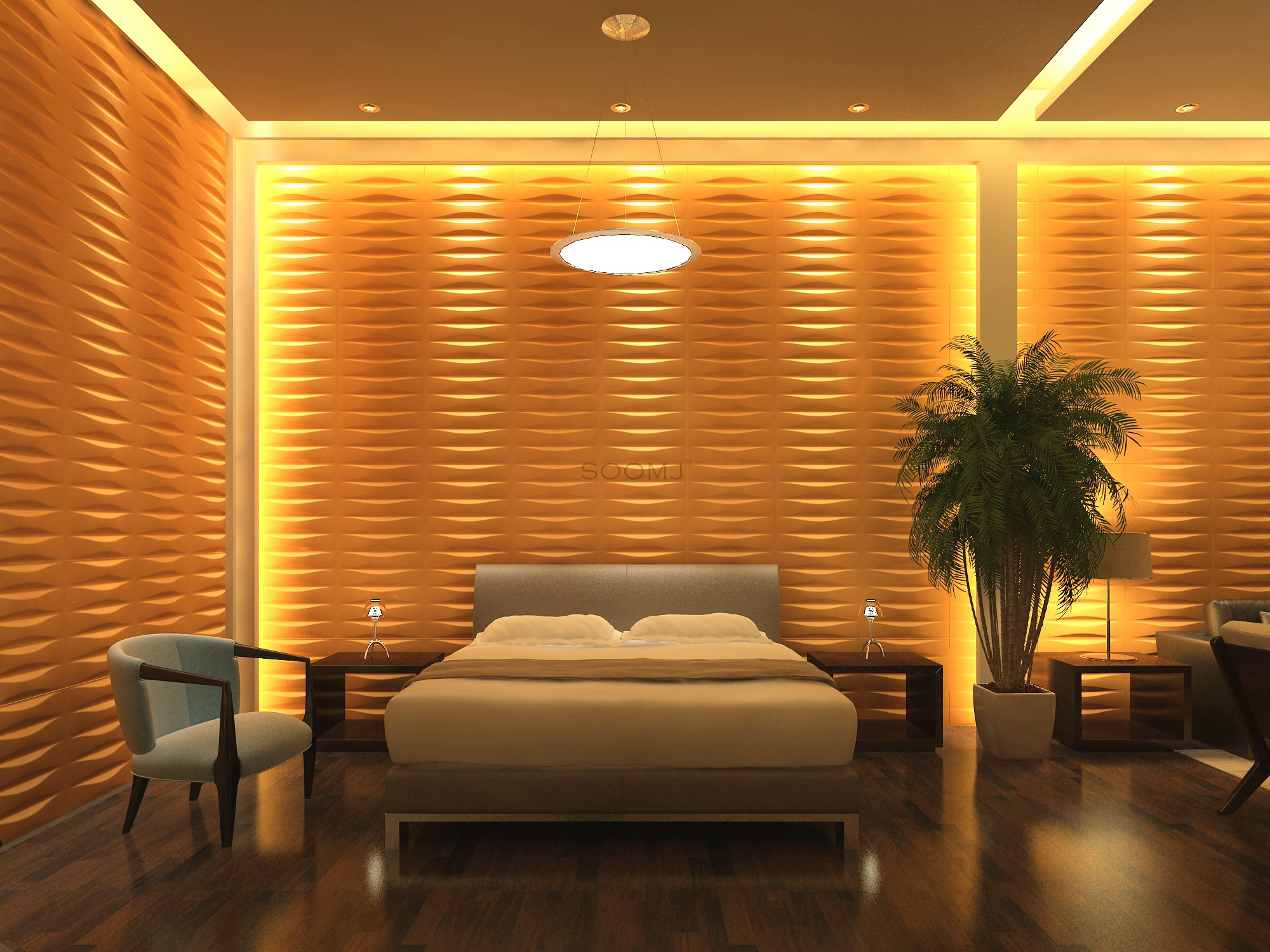 Textured tiles 3d wall panels plant fiber material set of - Interior wall sheeting materials ...