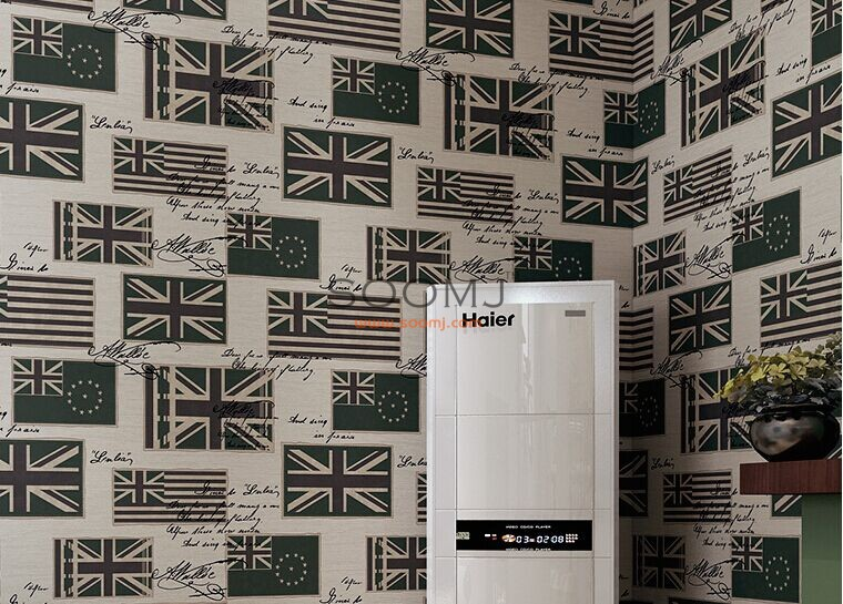 American Retro Wallpaper COLOURS