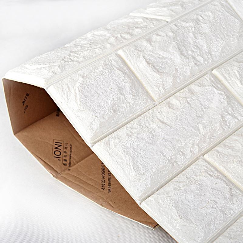» 3d Peel & Stick Wallpaper Brick Design 10 Sheets 58 Sq ...